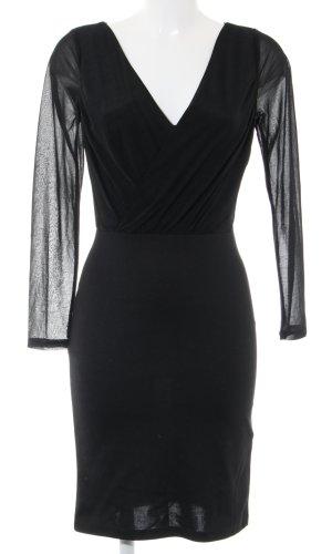 H&M Robe ballon noir élégant