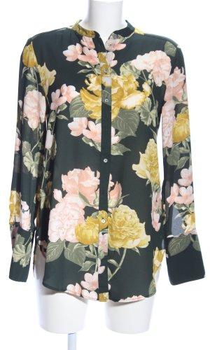 H&M Conscious Collection Lange blouse volledige print elegant