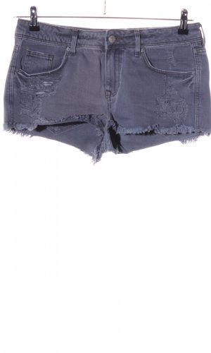 H&M Divided Hot Pants blue casual look