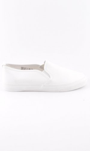 H&M Divided Moccasins white casual look