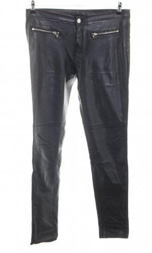 H&M Divided Pantalón elástico negro estilo extravagante