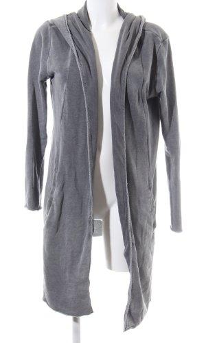 H&M Divided Veste sweat gris clair moucheté style décontracté