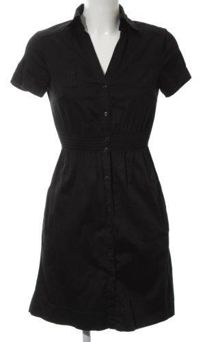 H&M Robe chemise noir style décontracté