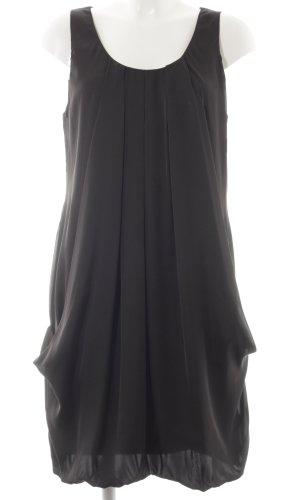 H&M Kurzarmkleid schwarz schlichter Stil