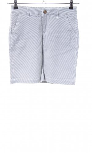 H&M L.O.G.G. Spijkerrok lichtgrijs-wit gestreept patroon casual uitstraling
