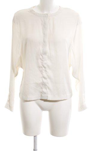 H&M Long-Bluse weiß Elegant