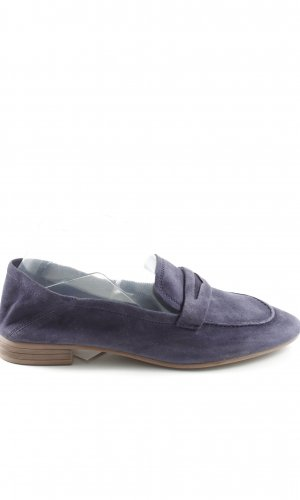 H&M Moccasins blue casual look