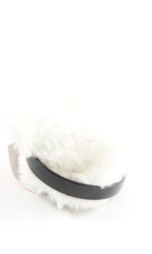 H&M Earmuff white-black casual look