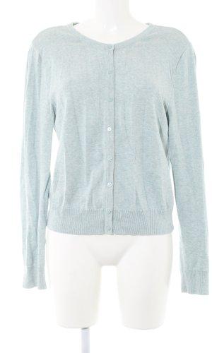 H&M Veste sweat bleu moucheté style décontracté