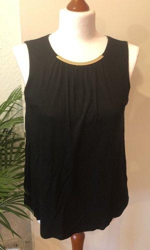 H&M Tuniek zwart-goud