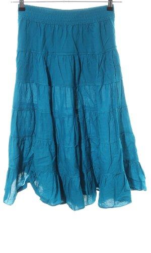 H&M Volanten rok blauw casual uitstraling