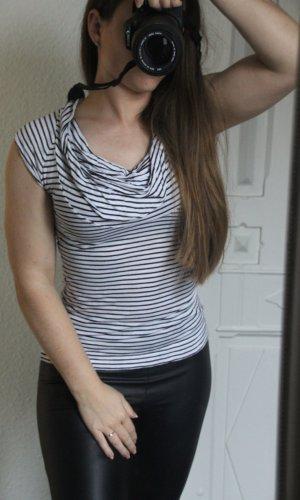 H&M Waterval shirt zwart-wit