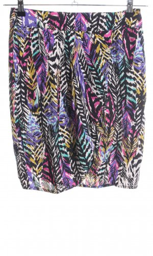 H&M Wikkelrok abstract patroon casual uitstraling