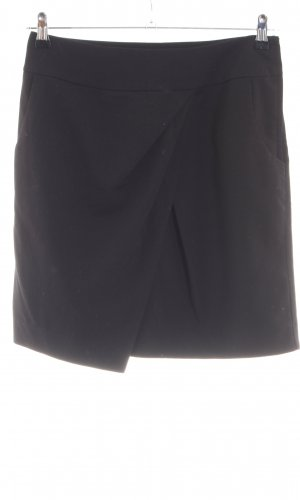 H&M Wikkelrok zwart zakelijke stijl