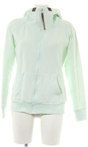 Hailys Veste sweat vert style décontracté
