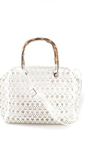 Hallhuber Carry Bag white extravagant style
