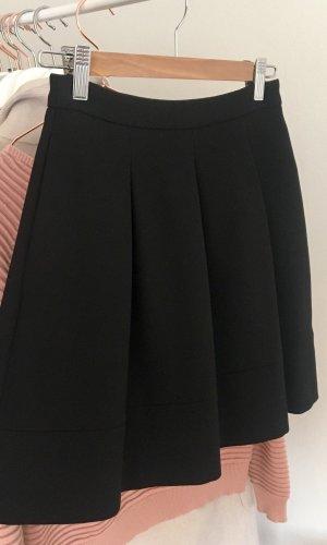 Hallhuber Jupe à plis noir