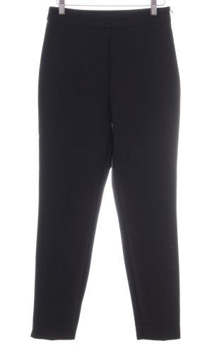 Hallhuber Pantalón elástico negro estilo «business»
