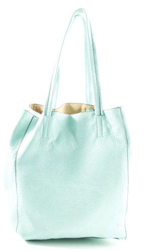 Hallhuber Crossbody bag turquoise casual look