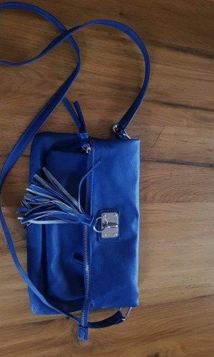Fringed Bag blue