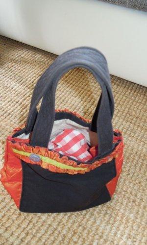 Traditional Bag black-neon orange
