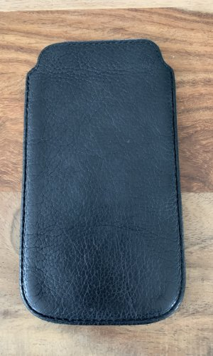 Liebeskind Mobile Phone Case black leather