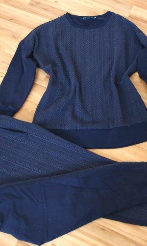 Chándal azul oscuro-azul