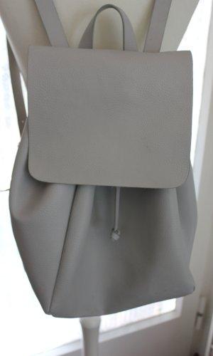 Zara Sac à dos pour ordinateur portable gris clair-gris