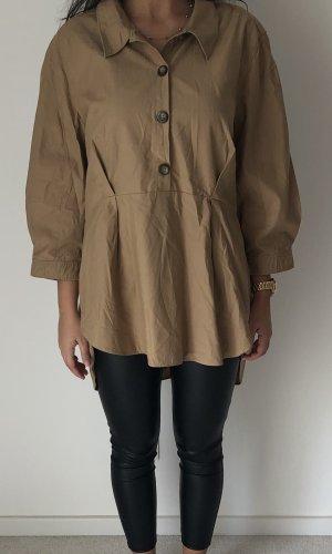 Zara Lange blouse beige