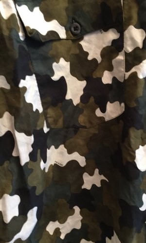 Prada Long Sleeve Shirt multicolored