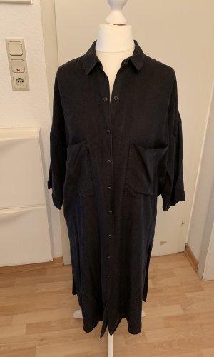 Zara Trafaluc Robe chemise gris anthracite