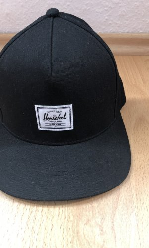 Herschel Casquette plate noir-blanc