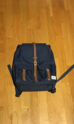 Herschel Sac à dos pour ordinateur portable bronze-bleu acier polyester