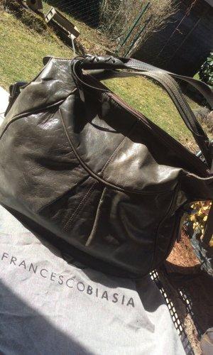 Hobo Bag FRANCESCO BIASIA Vintage Steelfarben