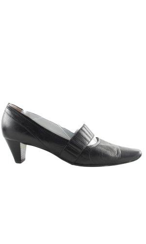Högl Zapatos estilo Richelieu negro elegante