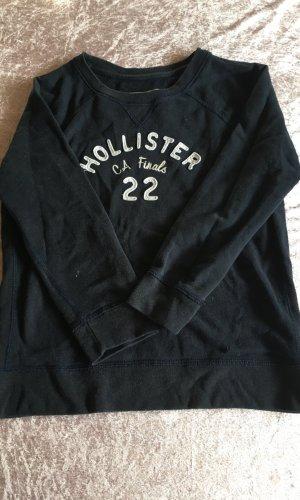 Hollister Sweater met korte mouwen donkerblauw