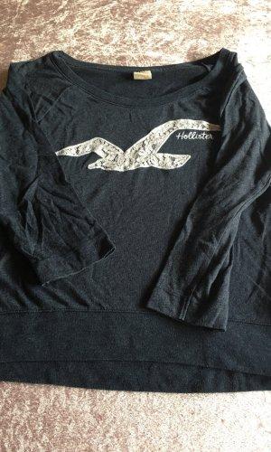 Hollister Sweater met korte mouwen staalblauw