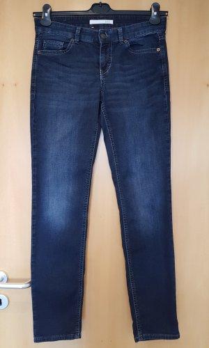 Mac Pantalón elástico azul oscuro
