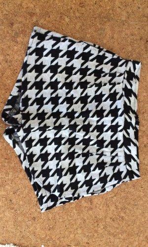 Jupes-culottes noir-blanc