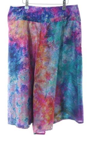 Broekrok kleurvlekken patroon extravagante stijl