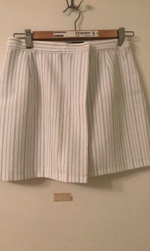 Jupes-culottes blanc-bleu foncé