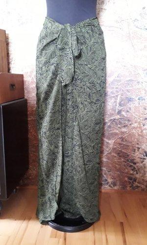 Kenny S. Jupes-culottes noir-vert forêt polyester