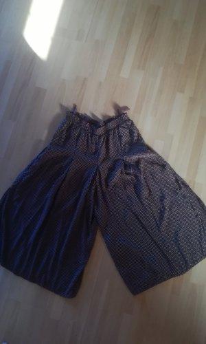 Jupes-culottes blanc-brun