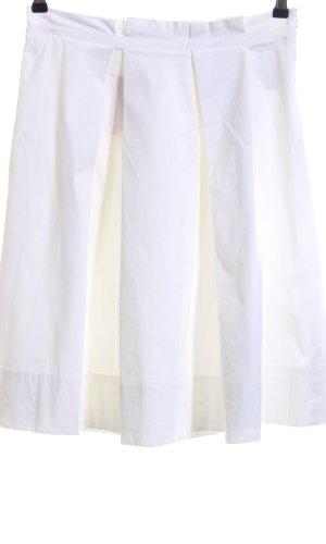Hugo Boss Jupe à plis blanc style décontracté