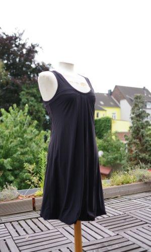 Robe ballon noir polyamide