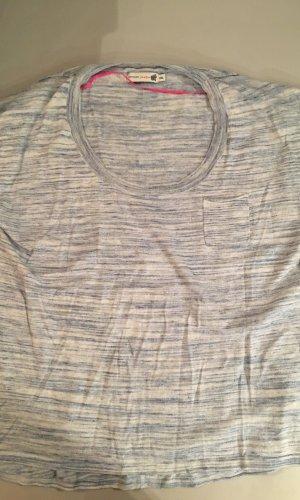 JACKPOT Pullunder leichter Pullover, blau meliert, Gr. XXL, oversize, NEU und ungetragen