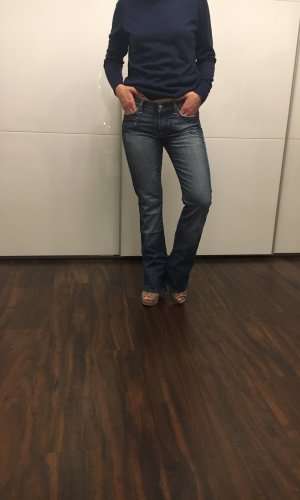 7 For All Mankind Jeans flare bleu azur