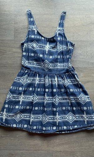 Topshop Denim Dress multicolored cotton