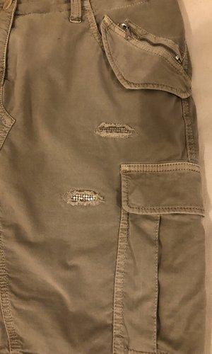 Cambio Jeans Spijkerrok beige Katoen