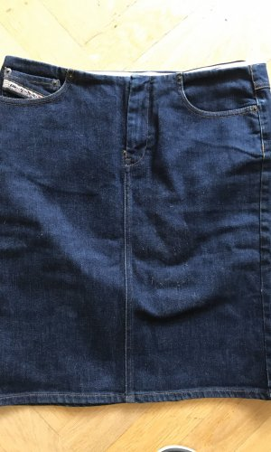 Diesel Spijkerrok donkerblauw